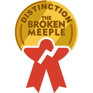 The Broken Meeple - Distinction