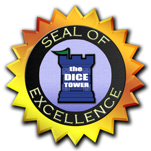 The Dice Tower - Seal of Excellence