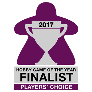 Hobby game of the year 2017 - Finalist - Player's Choice