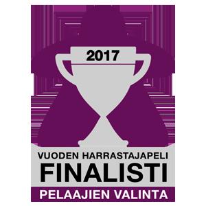 Pelaajien valinta 2017 - Vuoden harrastajapeli finalisti